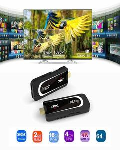 H96 Pro-H3 Android 7.1 TV Stick Amlogic S905X 2GB RAM 16GB ROM Quad Core 2.4GHZ/5.0GHZ WIFI HDMI 4K2K