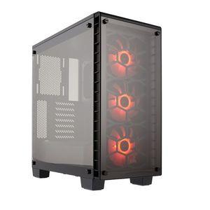 Corsair Crystal Series - 460X RGB Compact - Mid Tower Case