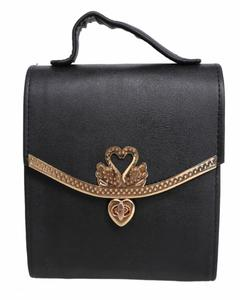 New Arrival Cross Body Ladies Hand Bag Black