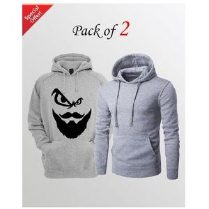Pack of Two Hoodie For Men.
