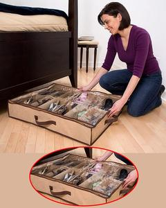 Space Saving Shoes Organizer - 12 Pair of Shoes - Slider Under Bed OZone Shop