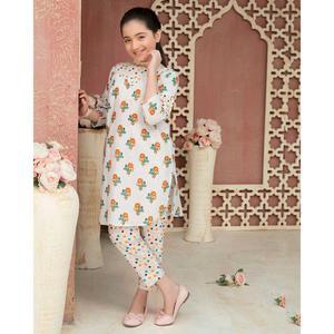 SITARA STUDIO Sapna Collection 2019 Multicolor Lawn 2PC Unstitched Suit For Women - 6141 B