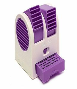 China USB Mini Cooler Fan - purple