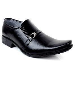 Black Leather Formal shoes For Men