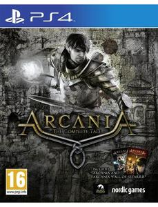 PLAYSTATION 4 DVD Arcania Complete Tale PS4 GAME