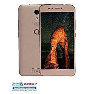 "QMobileCS1 Plus - 5.5"" - 3GB RAM - 32GB ROM - Fingerprint Sensor - Gold"