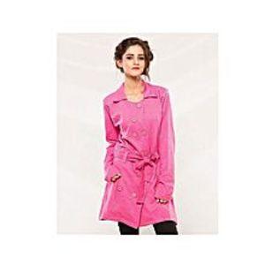 ModernStylishStorePink Fleece Winter Coat For Women