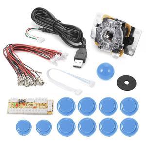1PCS Zero Delay Arcade Game Controller USB Joystick Kit Set for MAME Raspberry Pi