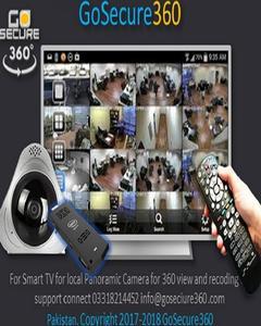 Windows CMS Client Wireless WiFi Security Camera 360 1.3 MP panoramic surveillance