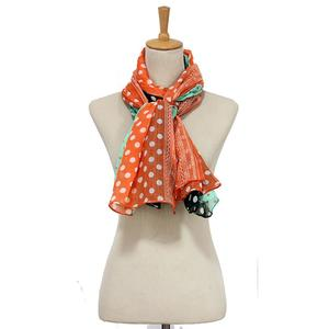 MissFortune Women Ladies Dot Print Voile Wrap Shawl Scarf