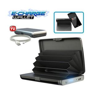 E- Charge Wallet - Wallet Powerbank