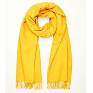 Hi CharlieYellow Wool Muffler For Men