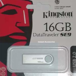Kingston 16GB Data Traveler SE9 USB Flash Drive (With6 months Warranty)