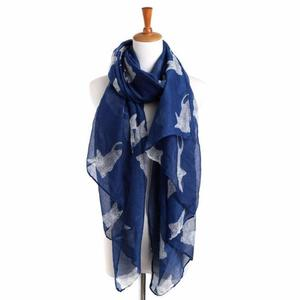 BlingBlingStar Women Ladies Cat Print Long Scarf Warm Wrap Shawl