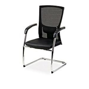 TorchAM-320 Executive Visitor Chair Imported - Black