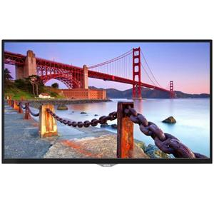 "AKIRA 24MG102 24"" HD LED TV with Built-in Soundbar & DC Battery Compatible - Glossy Black"