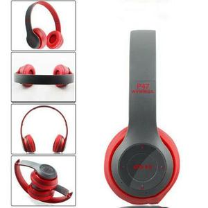 Professional Stereo P47 Bluetooth Headphone Wireless Multi Colour With Mic
