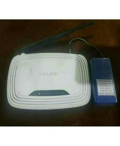 9 Volts - WiFi Router UPS Power Bank - 4 Hours Guaranteed Backup - Automatic - Tenda Tp Link PTCL