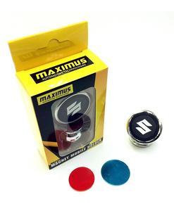 Suzuki Magnetic Mobile Holder - Silver & Black