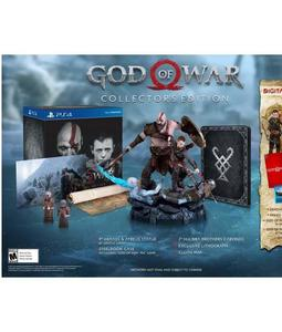 PLAYSTATION 4 GOD OF WAR COLLECTOR'S EDITION REGION 1