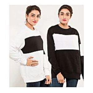 AybeezPACK OF 2 SWEAT SHIRTS FOR WOMEN