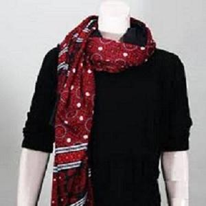 Multicolor Cotton Printed Sindhi Ajrak For Unisex
