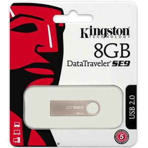 Kingston 8GB SE9 USB 2.0_1 YEAR WARRANTY
