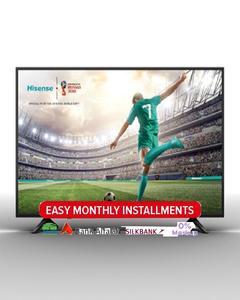 Hisense 65A6100 65 inch 4K Certified UHD LED TV - Black