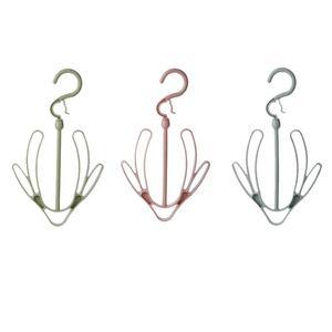 Balcony Hanger Hanging Shoe Rack Double Hook Outdoor Storage #J