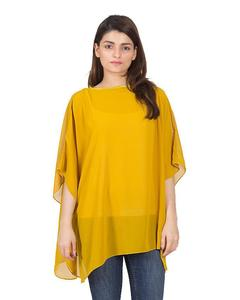 Aponchois an outerwear Soft & light weight chiffon top