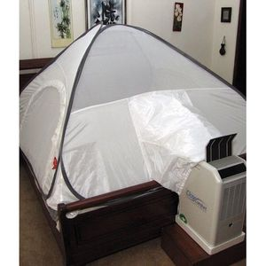 PC8 - Portable Air Conditioner - Energy-Saver - White Pyramid Tent