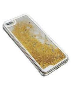 For Samsung J5 2016 Moving Glitter Gold Mobile Cover