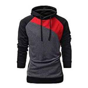Shopit.pk Red Contrast Hoodie For Men