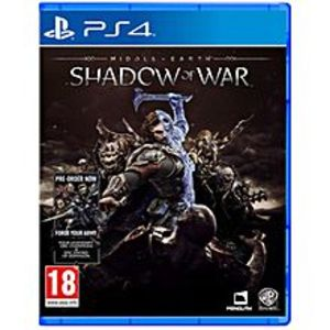 SonyPLAYSTATION 4 DVD SHADOW OF WAR PS4 GAME