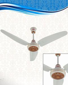 Ceiling Fan - Regency Model 56'' - Copper Winding - Light Wood