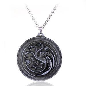 Game of thrones House Stark Lannister Targaryen Necklace Stark dragon Pendant