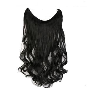 20 inches Invisible Thread No Clip in Hair Extensions