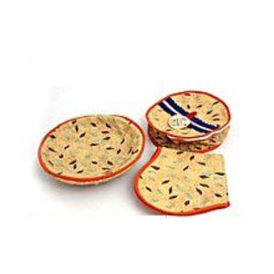 akiamorePack of 3 - Roti Basket - Multi Color