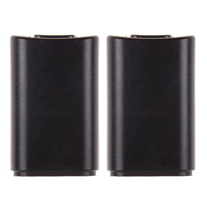 Vodool 2pcs Battery Back Cover Pack Replacement for Xbox 360 Wireless Controller