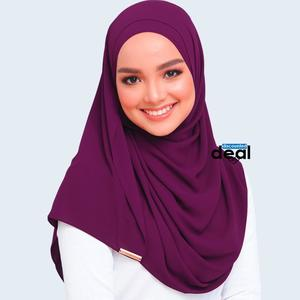 fashion all season women scarf thin shawls and wraps lady solid female hijab stoles long cashmere pashmina foulard head scarves purple Plain Cotton Silk  Mix Stole Scarf For Women girls length 2.15 meter