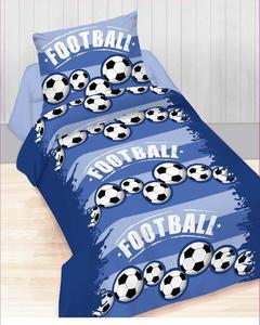 Football Cotton Single Bed Sheet - 00SS7