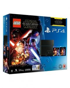 Bundle Offer - PS4 Console & LEGO Star Wars The Force Awakens - Black