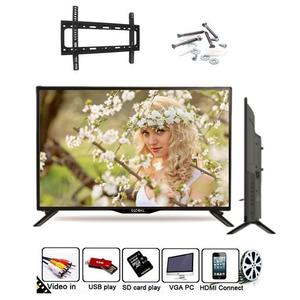 Globle 32 Inch J17 - UHD LED TV with Built-in Sound bar 32'' - Black