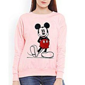 SA BazaarWomen MickeyMouse Sweat Shirts