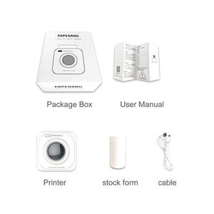 EF Paperang P1 Small Wireless Bluetooth 4.0 Mobile Phone Instant Photo Printer