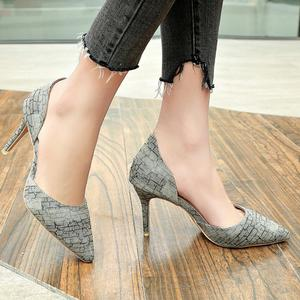 Women's High Heel Stiletto Fashion Printed Sandals Pointed Casual Ladies' Sandal