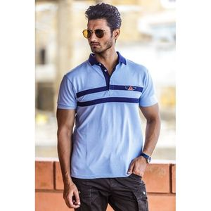 Fashion Gene Premimum Fashion Polo With Decorative Badge