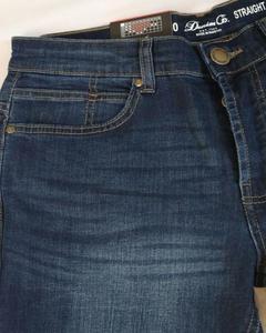 Denim Aqua Blue Real Jeans For Men