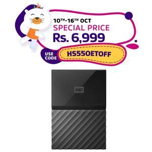 Western Digital - 1TB My Passport USB 3.0 - Black