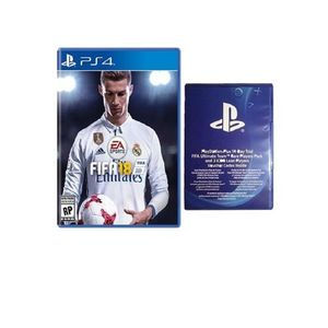 Pack of 2 - FIFA 18 - PS4 with 14 Day Trial FIFA Ultimate Team Players Pack